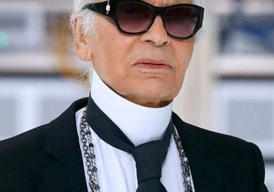 German fashion designer Karl Lagerfeld of Chanel fame died in Paris at age 85 after a brief illness!