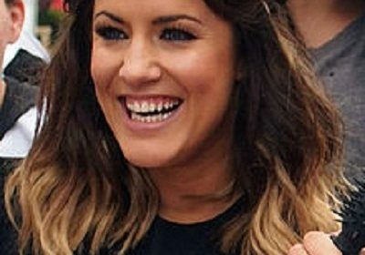 Caroline Flack has a new boyfriend! She has a cozy night out with him!
