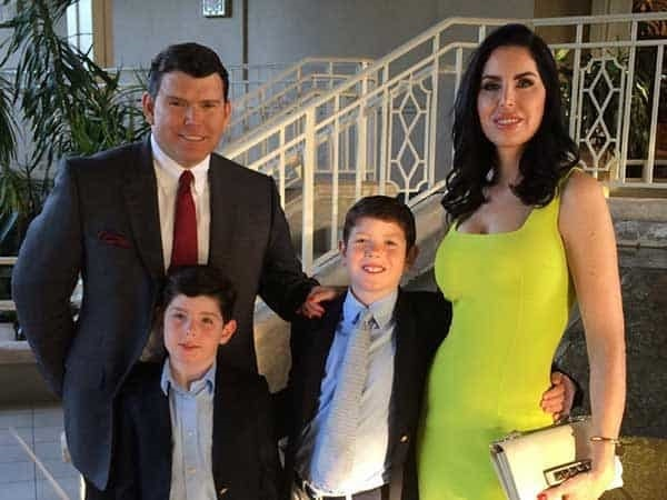 Bret Baier's wife and children