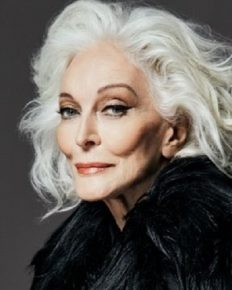 Ageless beauty, Carmen Dell'Orefice, 87 talks about her modeling, beauty, and skincare tips