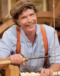 Roy Underhill – the traditional woodwork artist and his TV show since 1979 and Woodwright 's school!