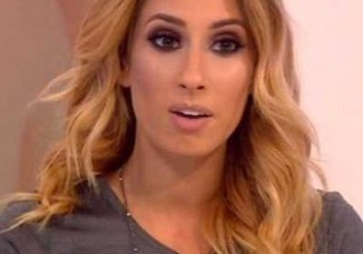 Stacey Solomon is pregnant and she teared up as she made the great announcement!