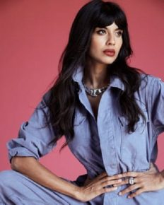 Actress Jameela Jamil speaks disrespect for the late Karl Lagerfeld!
