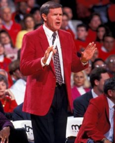 Full life enjoyment at 82! Basketball coach Denny Crum celebrates his birthday with zest!