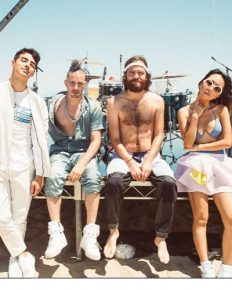 """DNCEis an Americanpopband with Joe Jonas, Jack Lawless, Cole Whittle, JinJoo Lee-""""imperfect awesome[ness] of the four of [them] together."""""""