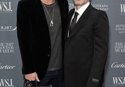 American gay fashion designer Marc Jacobs gets married to his candlemaker boyfriend Char Defrancesco!