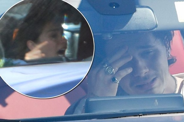 Car Broke Down >> What is causing the heated arguments between Brooklyn Beckham and his model girlfriend Hanna ...