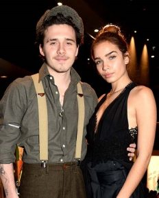 What is causing the heated arguments between Brooklyn Beckham and his model girlfriend Hanna Cross!