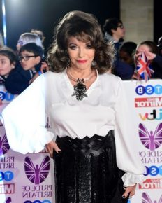 The Central London apartment of Dame Joan Collins partly gutted in fire!