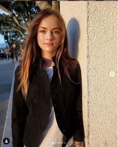 Morning shows the days! Kristina Pimenova a Russian child model had immense interest in Modeling. Also speaks about her wish to become a professional actress andfilm director