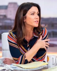 Piers Morgan mockingly makes a move on Susanna Reid after she confirms her breakup from boyfriend Steve Parish!