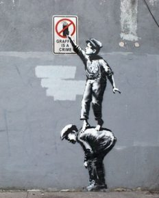 Who is Banksy? Know about this secretive and controversial street artist of the UK!