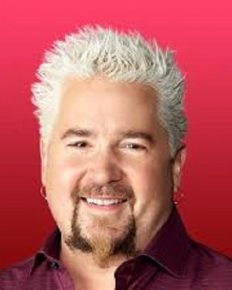 The famous celebrity chef Guy Fieri will eat anything except liver and eggs!