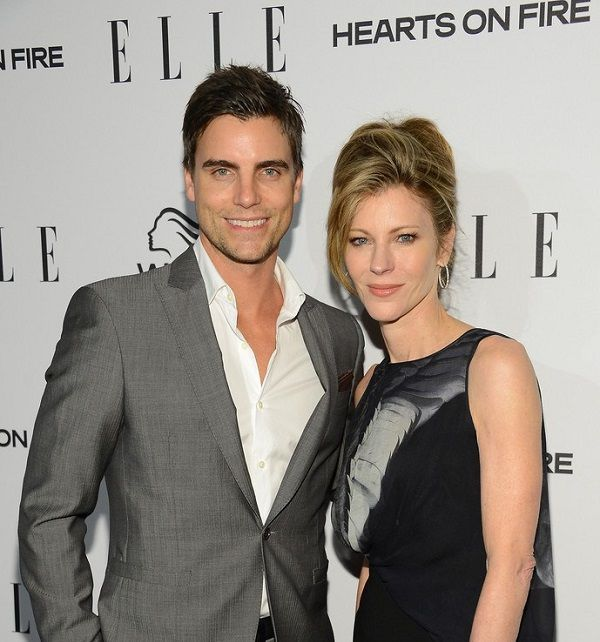 Collin Egglesfield with his girlfriend