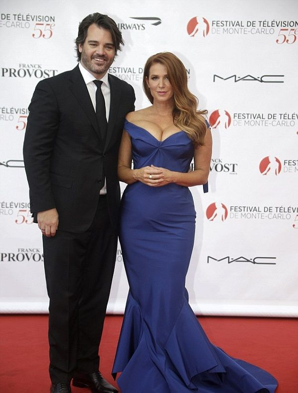 Poppy Montgomery and Shawn Sanford on Red Carpet
