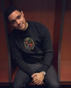 """Language, even more than color, defines who you are to people.""-Trevor Noah's a man from South Africa who is comedian, writer, producer, political commentator, actor, and television host!"