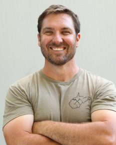 Mark Bowe-the American TV personality and presenter of the DIY Network's show Barnwood Builders!