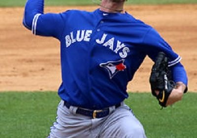 Mark Lowe-the baseball relief pitcher for the Sugar Land Skeeters of the Atlantic League of Professional Baseball.