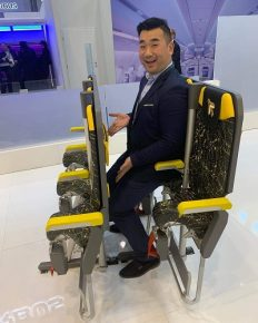 Skyrider 3.0! The new concept of standing seats in short-haul aircrafts! Will there be any takers for it?
