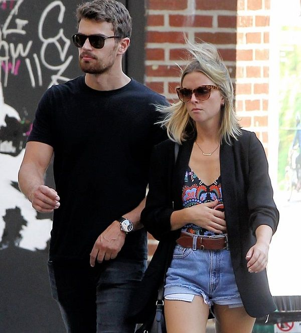 Actress Ruth Kearney and Theo James were spotted out and about in NYC