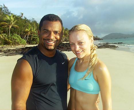 Alfonso Ribeiro and Angela Unkrich's Romantic Honeymoon ...