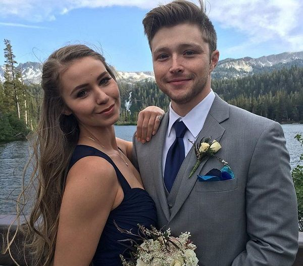 Ayla Kell and fiance Sterling Knight