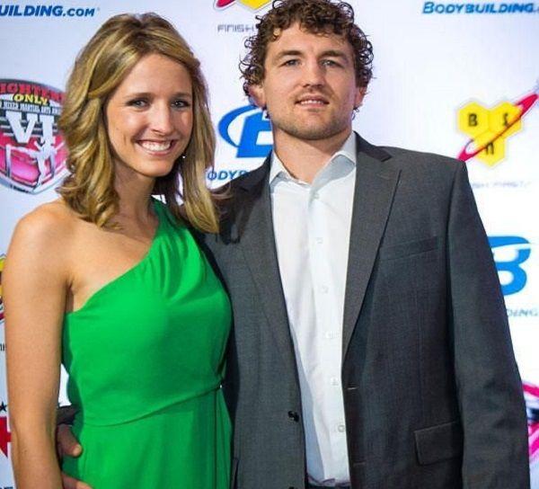 Ben Askren and his wife Amy Askren