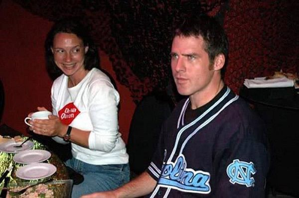 Ben Browder with his wife Francesca Buller