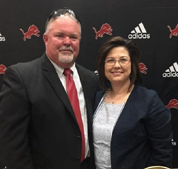 Buddy Stephens with wife Robyn Lynn Stephens