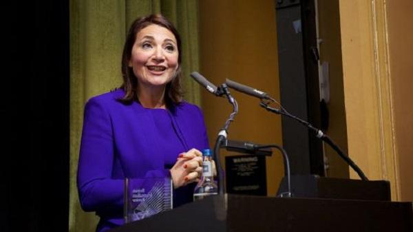 Charles Wheeler Award presented to Katya Adler at the University of Westminster