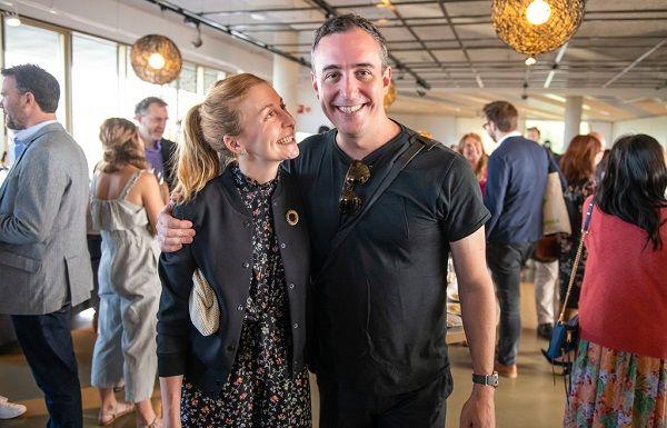 Christina Tosi and her husband