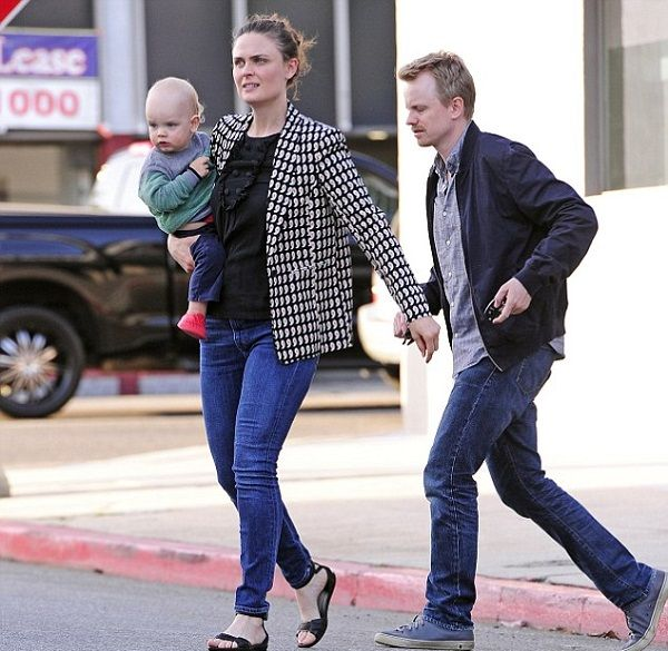 Emily and David are shown with their eldest son Henry