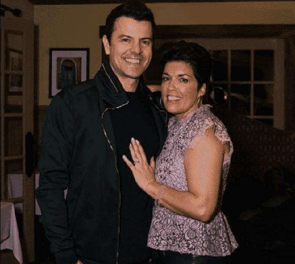 Evelyn Melendez and her husband Jordan Knight