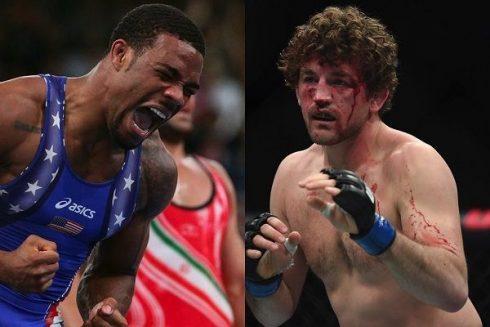 Chael Sonnen credits the former Olympic wrestler Ben ...