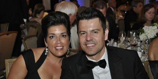 Jordan Knight and Evelyn Melendez