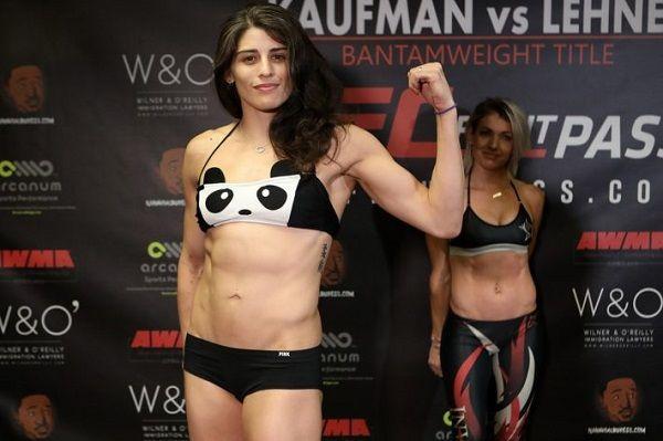 Julia Avila joined UFC