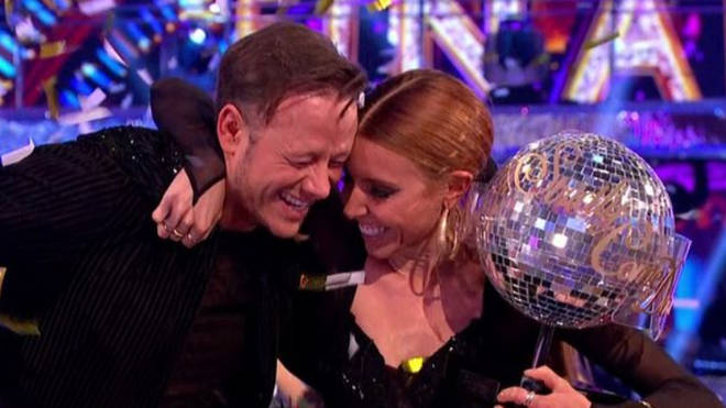Kevin Clifton and Stacey Dooley winning Strictly 2018