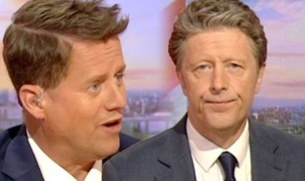 Mike Bushell and Charlie Stayt