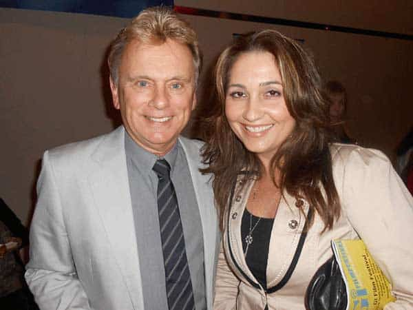 Pat Sajak with Lesly Brown