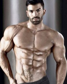 The bodybuilder and fitness model, Sergi Constance workout secrets!