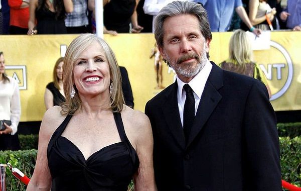 Teddi Siddall with Gary Cole