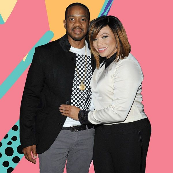 Tisha Campbell and her husband Duane Martin