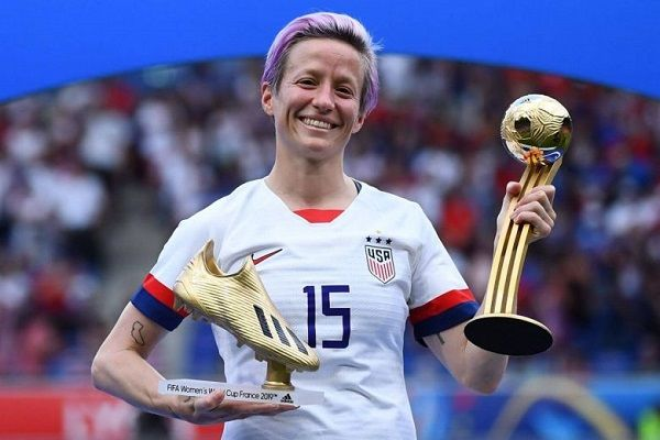 USA star Megan Rapinoe has been the biggest star on the field over the last month