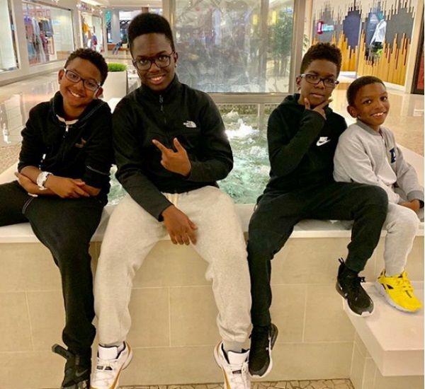 Wanya Morris children