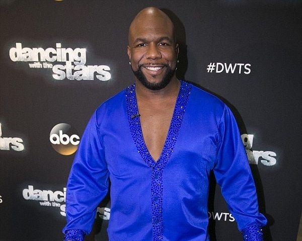 Wanya Morris in Dancing with the stars