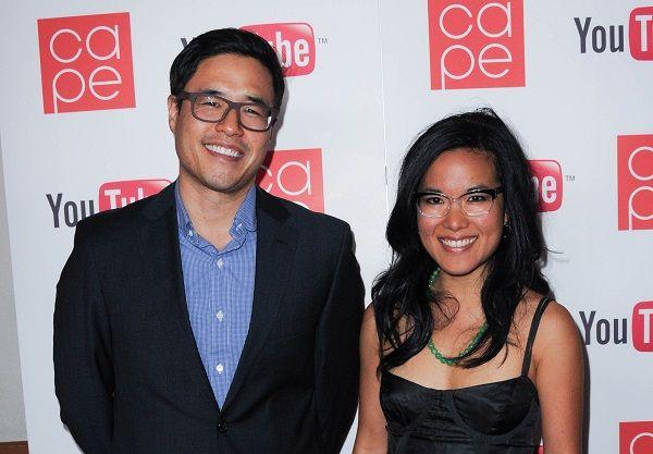 actress Ali Wong and Randall Park