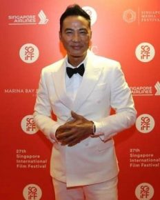 Hong Kong actor Simon Yam stabbed on stage during a promotional event in China!