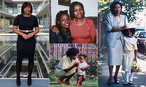 Charlene White with her children