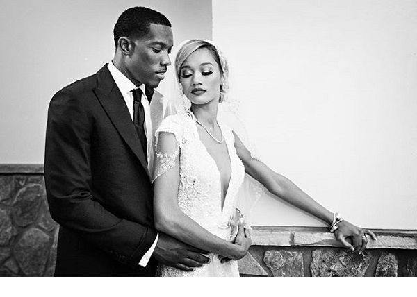 Eric Bledsoe and his wife