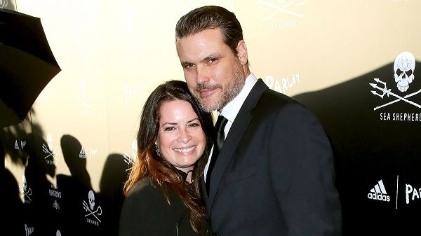Holly Marie Combs and David W. Donoho